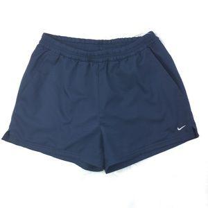 Nike navy blue shorts size small